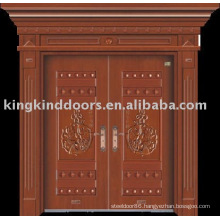 luxury copper door villa door exterior door JKD-9006