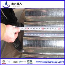 Material de construcción SGCC Acero corrugado galvanizado por inmersión en caliente fabricado en chapa en un fabricante bien establecido y confiable