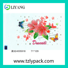 2014 Glitter Heat Transfer Film for Plastic Produce