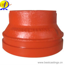 FM Approved Ductile Iron Grooved Exzentric Reducer