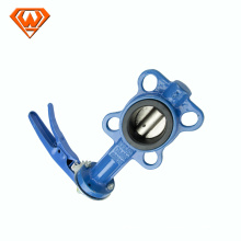 butterfly valve wafer type soft seal
