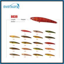 Isca de pesca do tipo flutuante / afundando 2 / 3,5g Equipamento de pesca