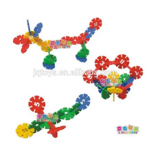 Plastic building blocks the best price toy