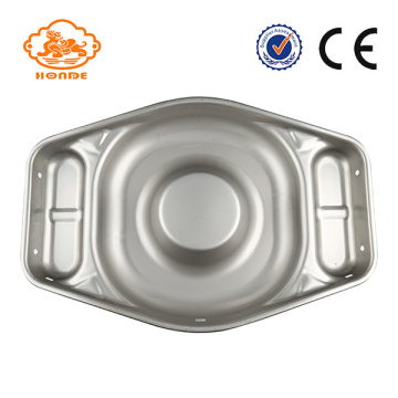 Big Thickening Pig Acero inoxidable Wet Feed Pan