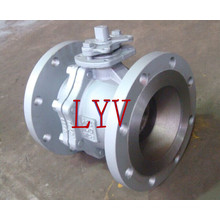 Full Bore Flanged 3PCS Fixed Ball Valve with Good Quality and Good Price