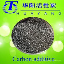 Teneur en soufre 0.24% 3-8mm carbone additif