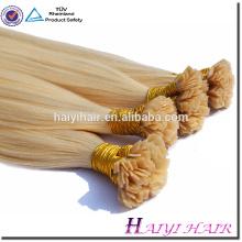cabelo humano da ponta plana cabelo humano remy virgem