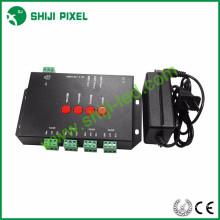 Programável K4000C dmx 512 rgb controlador led rgb novo controlador de pixel