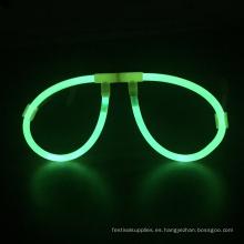 Gafas de plástico resplandor