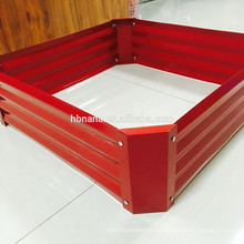 Raised Bed Vegetable Garden bed / galvanized steel planter box