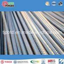 Barre d'acier renforcée en béton / barre déformée