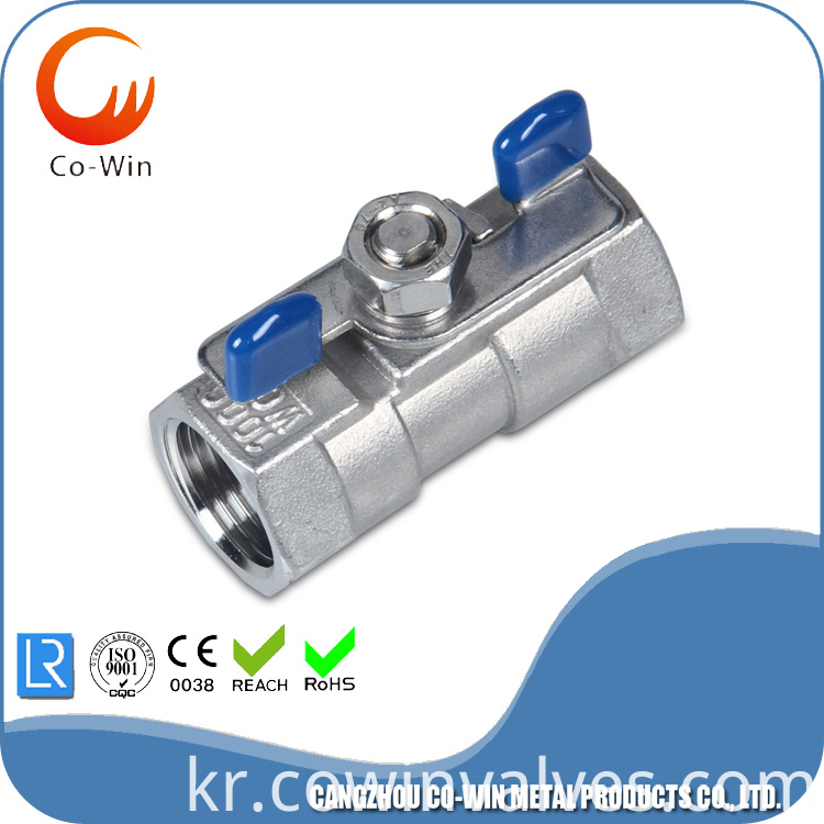 1pc butterfly handle valve