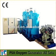 Bajo costo de la planta de oxígeno PSA Sistema Aprobación CE Fabricación de China OEM