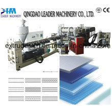 Máquina de coberturas de laminado de policarbonato Lexan