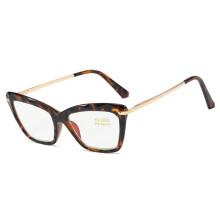 Women Brand Designer Cat Eye Eyeglasses Optical Spectacles For Lady Transparent  Presbyopic Eyewear Glasses Frame