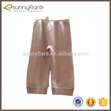 Children cashmere knitted pants