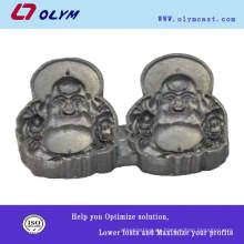 China OEM de acero inoxidable perdido cera de fundición riendo las partes de la estatua de Buda