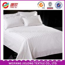 Tejido de raso de algodón 100% para textiles para el hogar y ropa de cama de hotel Tejido de algodón 100% percal / tela de raso de raso para sábanas