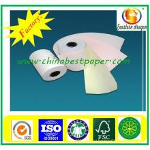 55GSM девственницы carbonless бумага печатание