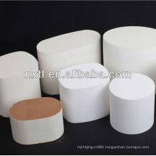 honeycomb monolith ceramic used catalytic converters