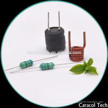 Inductores de filtro Corizontal de alta corriente radial de obstrucción serie DR1013 para teléfonos inalámbricos