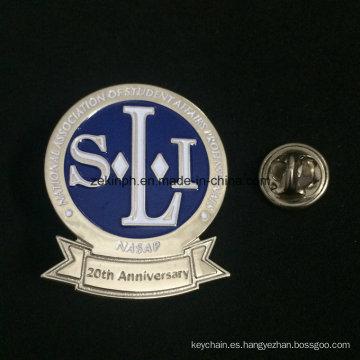 Venta al por mayor Metal Custom Hard Enamel Solapel Pin