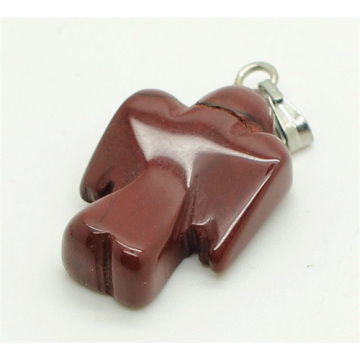 Colgante Shape Red Jasper