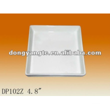 4.8Inch small square dinner plate