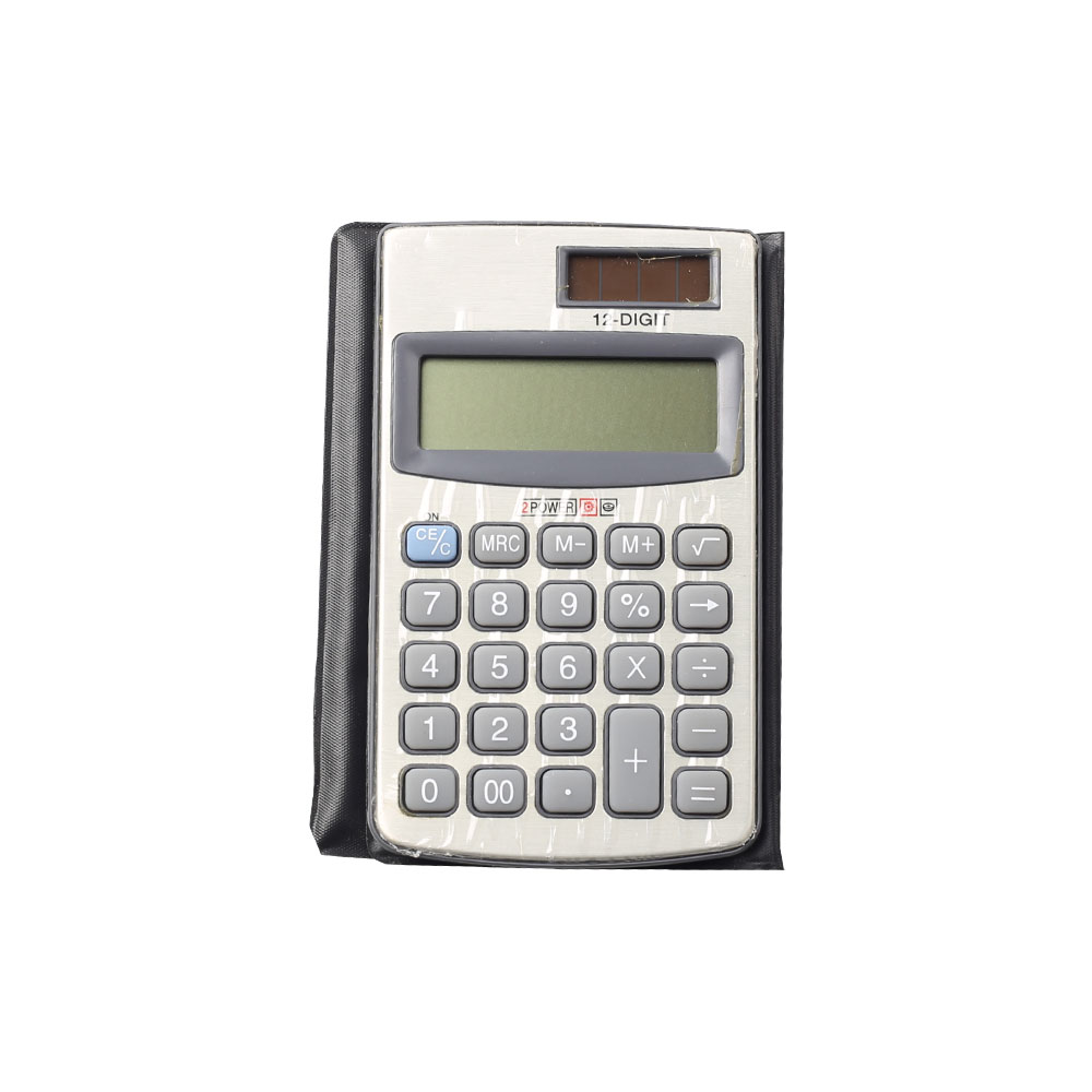 12 Digit Kids Using Pocket Calculator with Cover