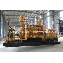 ISO Standard Highly Efficient 500 Kw Coal Gas Generator Set