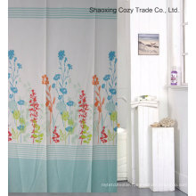 Plant Design Fabric Shower Curtain