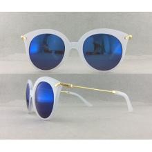 Óculos de sol de plástico para venda de mulheres quentes para venda P02008