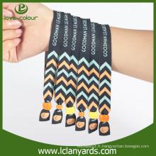 Bracelet en tissu à usure personnalisée