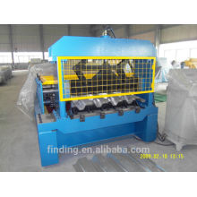 Galvanized steel metal deck roll forming device