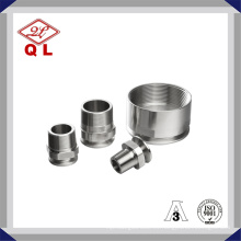 3A 22MP Acero Sanitario Acero Inoxidable NPT Clamp Adapter