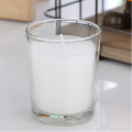 Lavender Jasmine Basic Scented Candle di Clear Jar