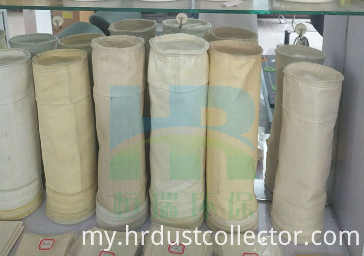 High temperature dust collecting bag
