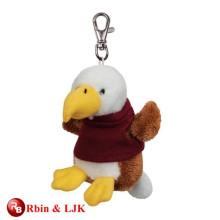 High quality custom custom plush keychain