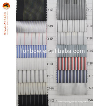 Stripe cheap lining fabric polyester goods from china