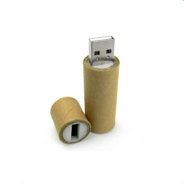 OEM Customized Logo Recycled Paper Pen Drive