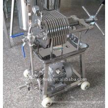 Presse-filtre Leo Presse-filtre à matériel en acier inoxydable