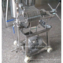 Leo Filter Press Stainless Steel Material Tesing Filter Press