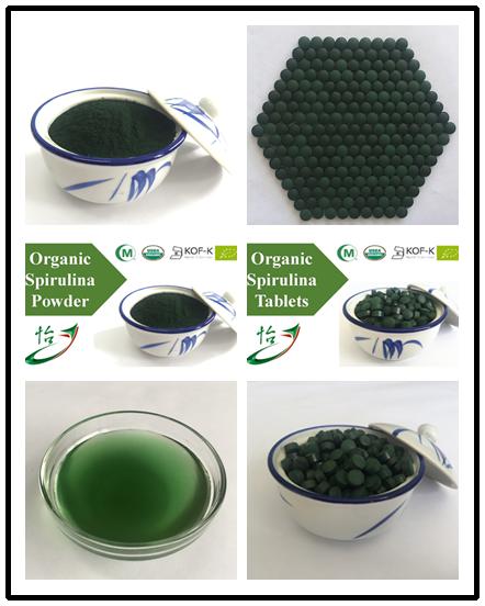 Organic Spirulina