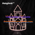 8inch Pageant Princess Castle Crowns