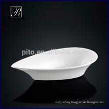 P&T chaozhou porcelain factory drop shape bowl, saucer dish, ceramic rice bowl