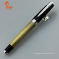 Новинка Металлическая пружинная шариковая ручка с пользовательской печатью логотипа