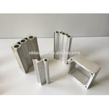 T3-T8 Temper and Square Shape extruded aluminum profiles