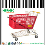Durable Plastic Shopping Trolley