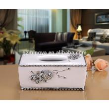 Оптовая коробка горячий продавать роскошные ткани для домашнего декор коробки ткани