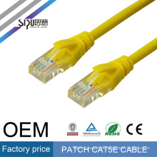 SIPU 1m CCA copper clad aluminium grey communication network utp cat cat5e cable
